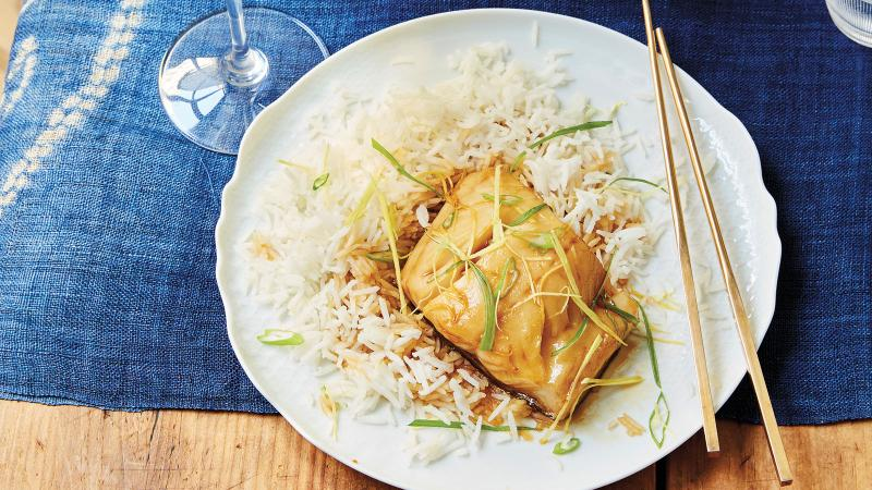 Black cod is a fish rich in fat that is almost impossible to overcook.