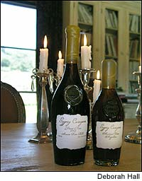 Gypsy Canyon's wines are bottled in hand-blown glass, with handmade paper labels and beeswax seals.