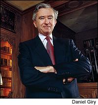Luxury goods mogul Bernard Arnault, along with Belgian businessman Albert Frère, has purchased Château Quinault.