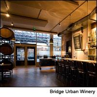 Wine lovers can taste New York wines at Bridge Urban Winery, and may soon be able to make their own barrel there.