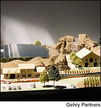 Napa locals initially rejected Gehry's design, but celebrations surrounded the groundbreaking.
