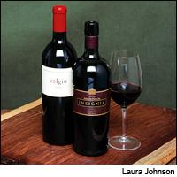 Joseph Phelps Insignia and Colgin Herb Lamb Vineyard were two of the rare bright points in California's difficult 1998 vintage.