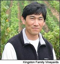 Winemaker Byron Kosuge focuses on Pinot Noir and Syrah in both California and Chile.