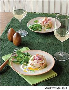Dungeness Crab and Asian Pear Salad