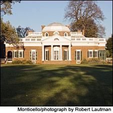 Thomas Jefferson attempted to plant European varietals like Sangiovese at Monticello.