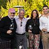 Marvin Shanken, editor and publisher of <i>Wine Spectator</i>, Bill Terlato of Terlato Wines, Hazel Shanken, Tony and Debbie Terlato