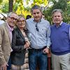 Tor and Susan Kenward of Tor Wines and Greg and Bart Araujo of Accendo Cellars