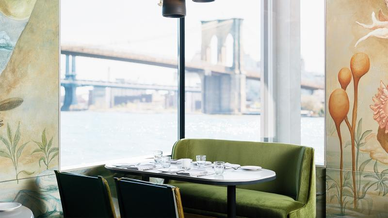 Turning Tables: Jean-Georges Vongerichten Opens Restaurant at New York's Seaport District, with More to Come