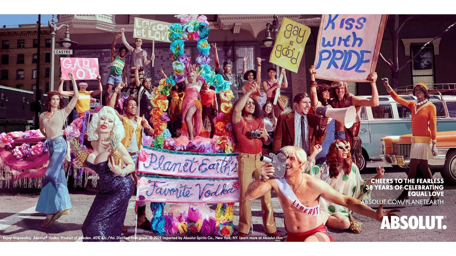 Absolut Pride ad