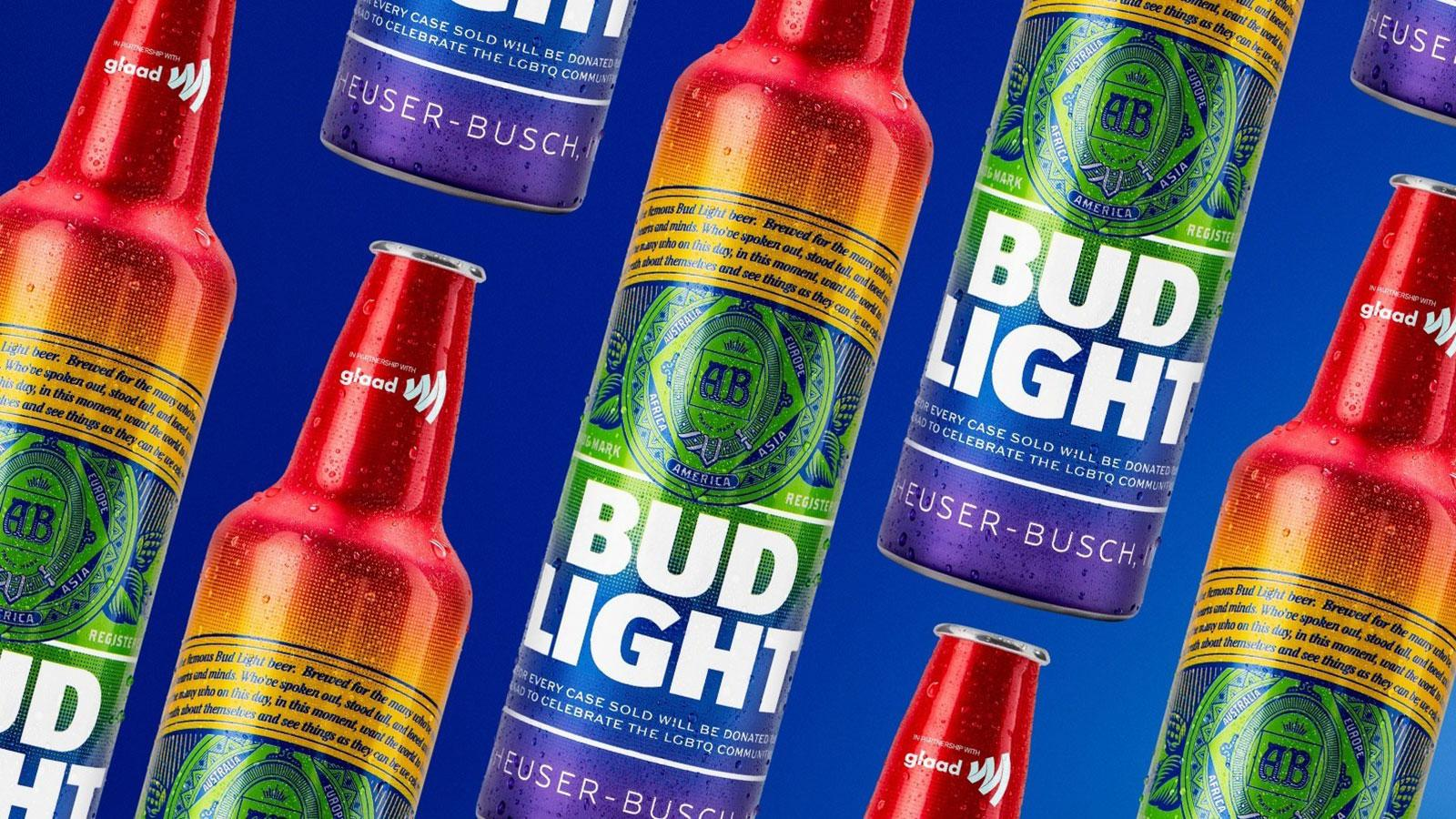 Bud Light Pride bottles