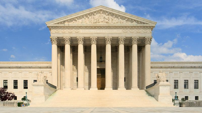 Are they discussing wine inside? The Supreme Court is expected to issue its final decisions of this term this week.