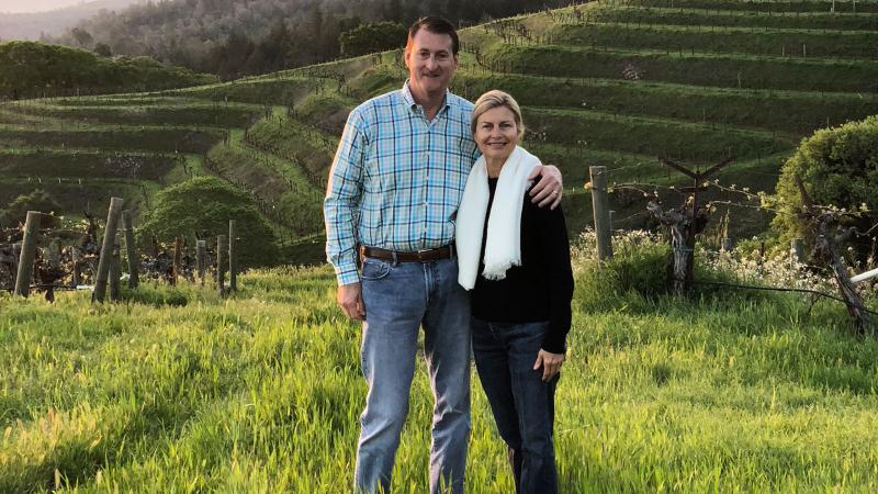 Gaylon and Lisa Lawrence are putting their mark on Heitz Cellar.
