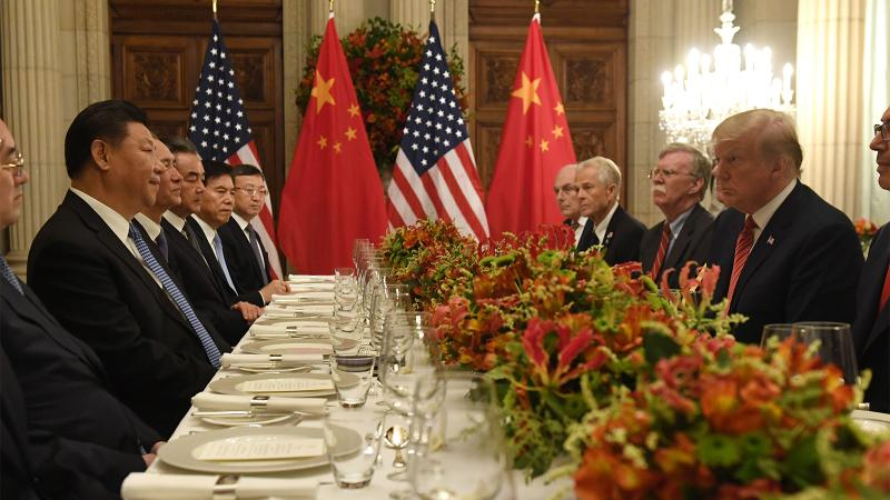 U.S. President Donald Trump and his Chinese counterpart Xi Jinping met face-to-face in Buenos Aires in December.