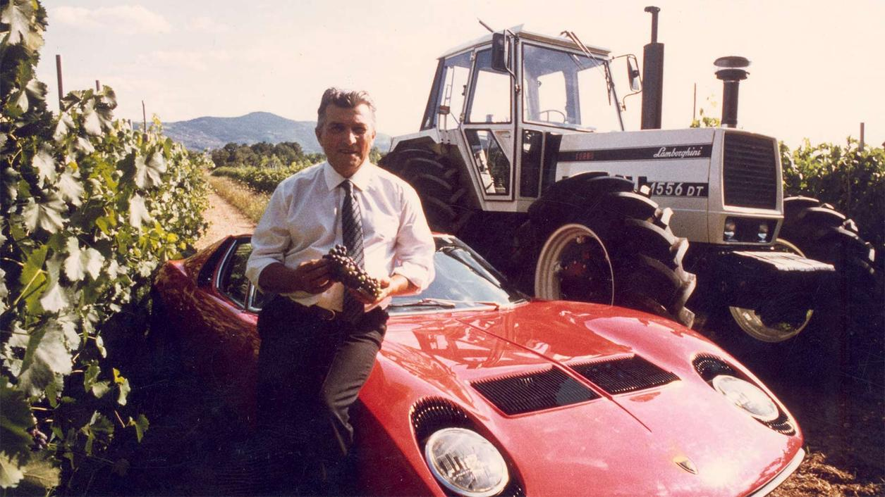 From Supercars to Super Umbrians: Lamborghini the Winemaker