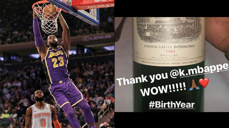 LeBron Goes for Two Lafite Vintages; Taittinger Fills World Cup as the Beautiful Game Comes to Champagne