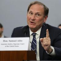 Supreme Court Justice Samuel Alito strengthened the arguments of retailer direct shipping supporters.