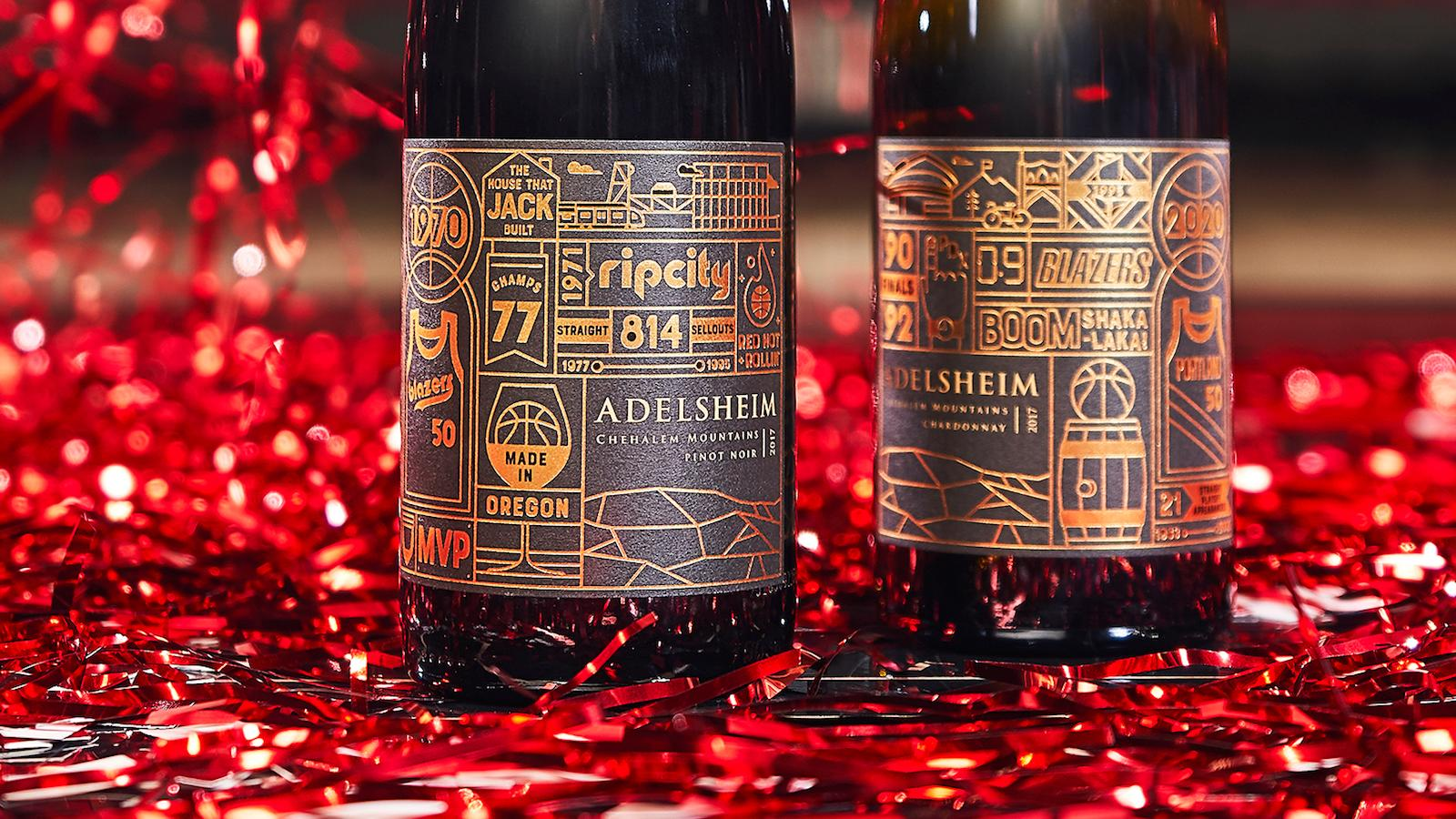 Adelsheim Rip City bottles