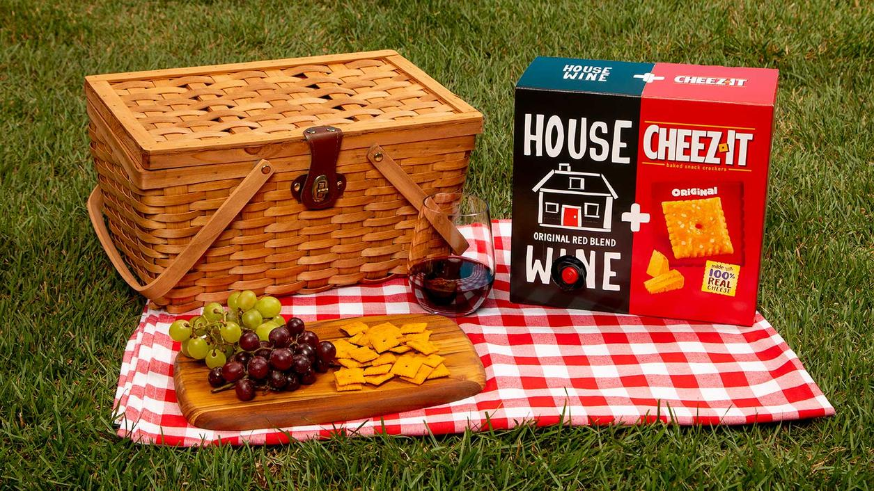 Wine Gets a Friend in Cheez-Its