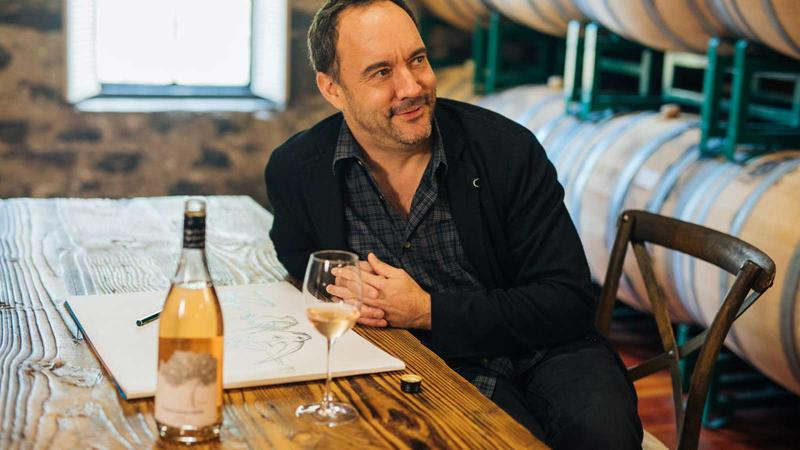 Dave Matthews Debuts Rosé for Rhinos; Chuck Schumer: Wine Should Be in Cans