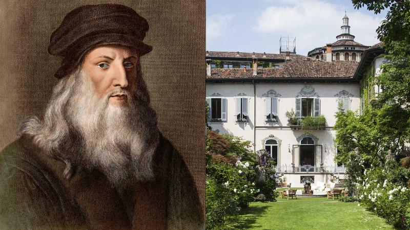 Heroes in a hectare: Leonardo and the Atellani House, where his vineyard grows anew