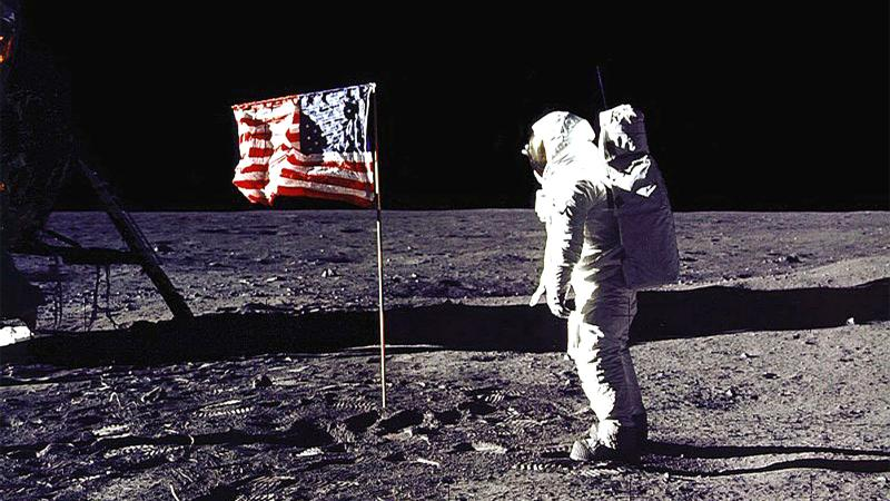 For now, Aldrin is the only buzz NASA allows on the moon.