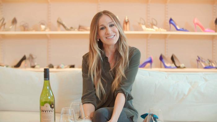 Wine Talk: Sarah Jessica Parker Tries on Wine