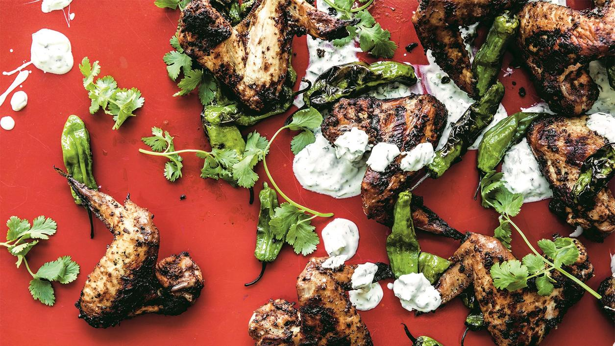 Spice Up Your Labor Day Get-Together with Chris Shepherd's Masala Chicken Wings
