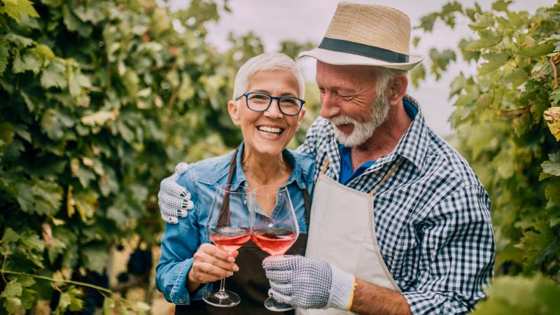 Researchers found that moderate wine drinkers lived longer than any other group.