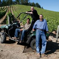 Kevin Harvey, right, made a fortune in tech before starting Rhys Vineyards in 2004.