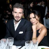 A grand wine week for Great '90s Daves. Pictured: David and Victoria Beckham hone their palates at a dinner last year.