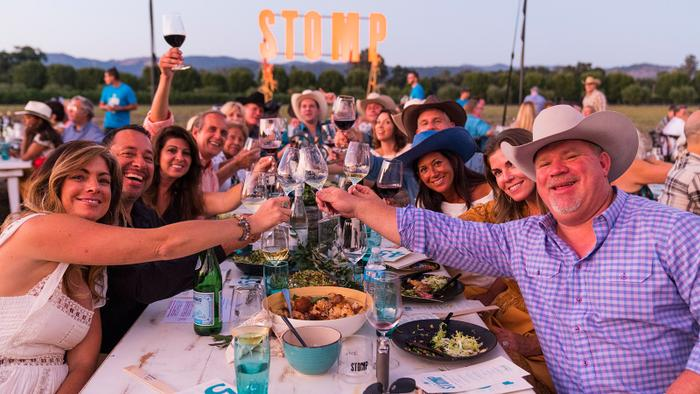 Napa's Harvest Stomp Auction Raises $2.32 million
