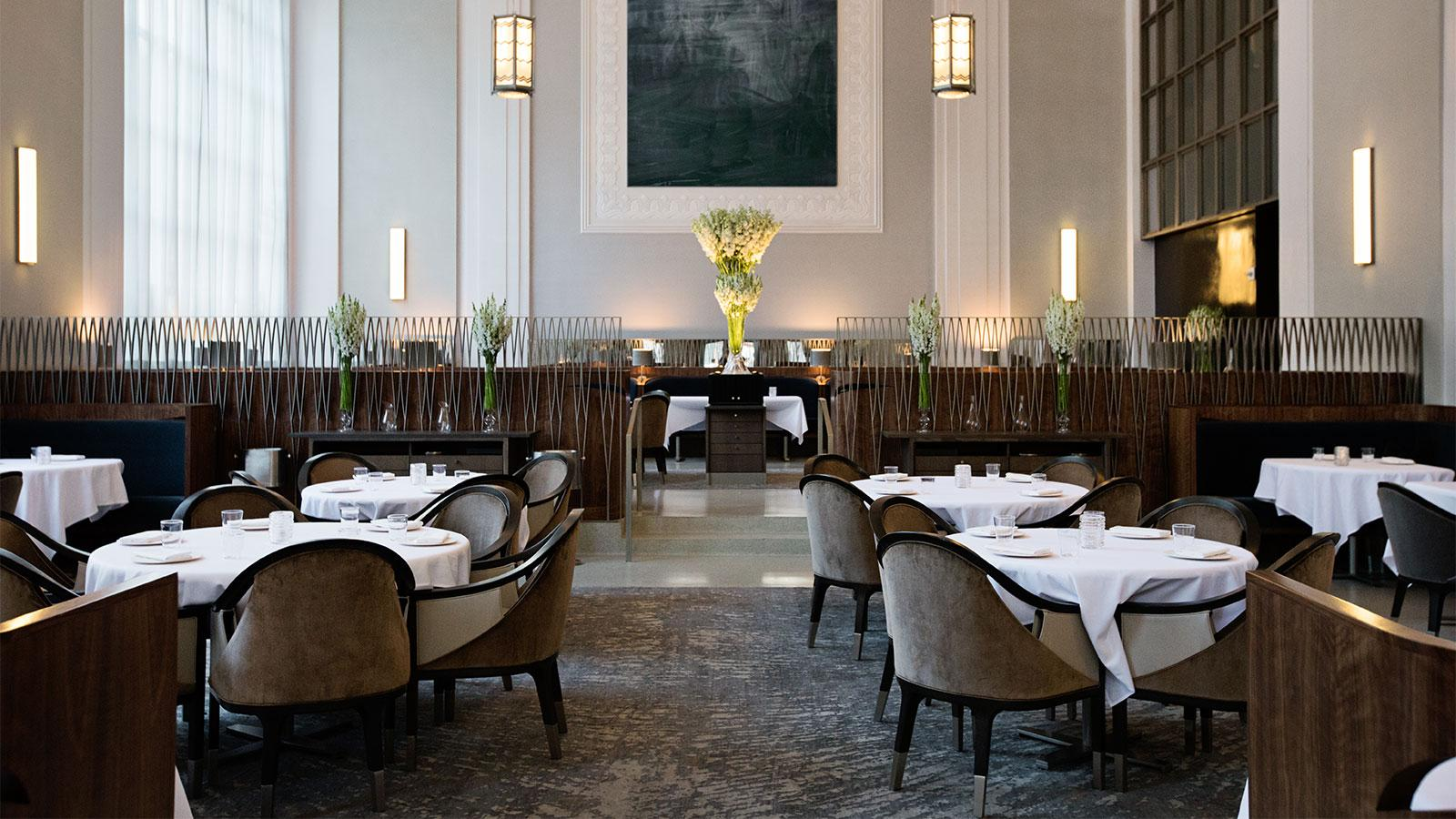 Eleven Madison Park dining room