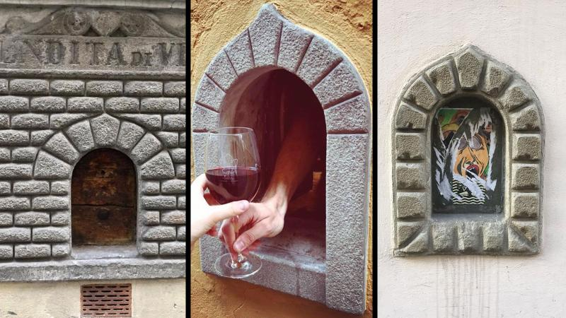 Florence's Forgotten Renaissance 'Wine Windows' Are Open Again for Business