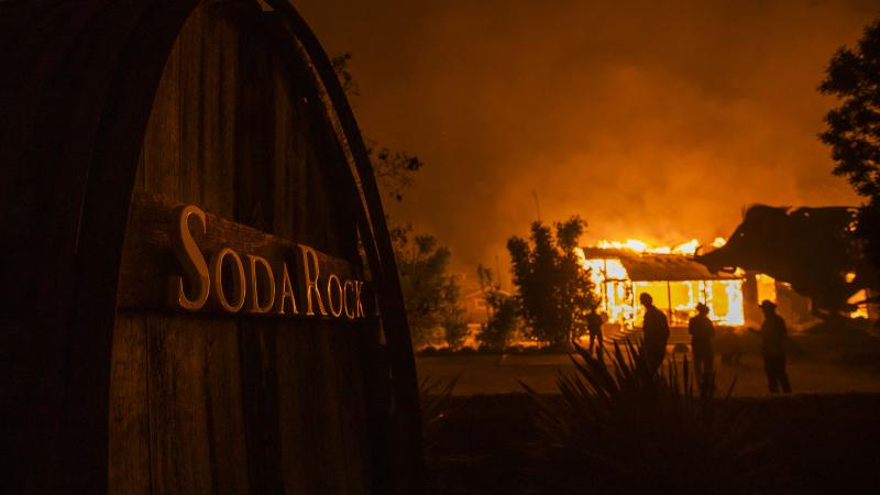 Sonoma's Soda Rock and Field Stone Wineries Burned by Kincade Fire