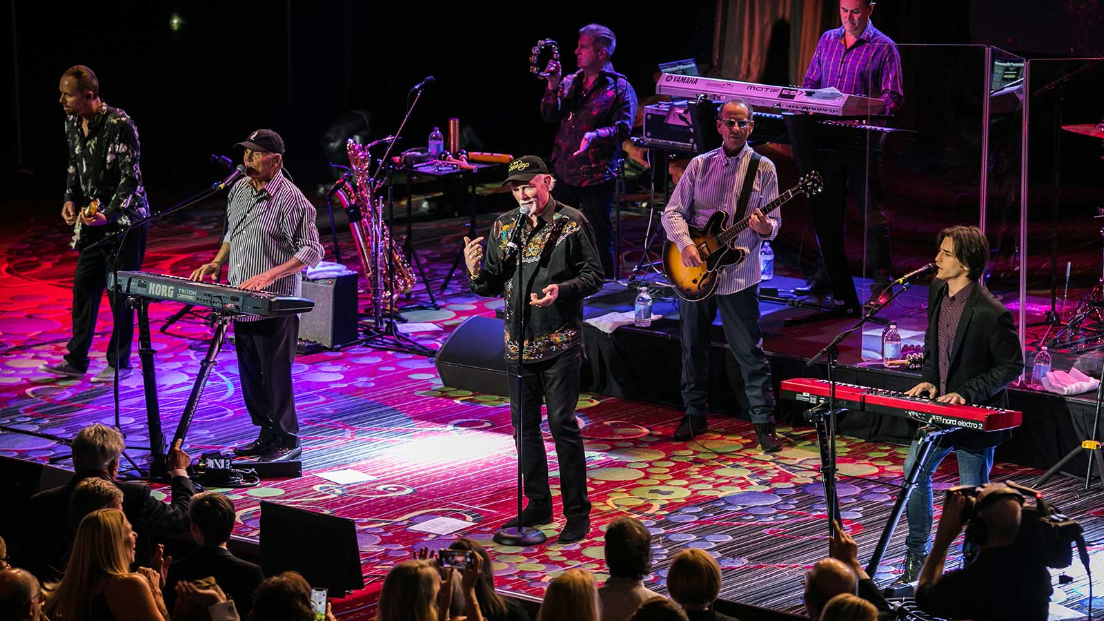The Beach Boys perform at the New York Wine Experience