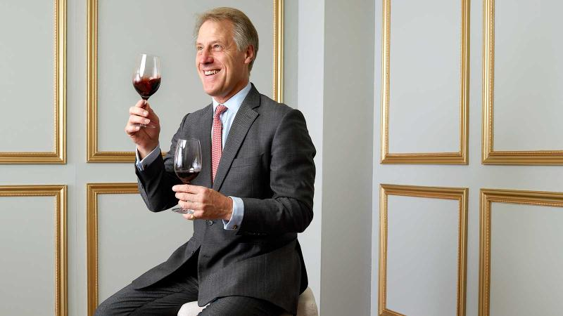 Fladgate Partnership CEO Adrian Bridge brought two perfect Ports to the New York Wine Experience.