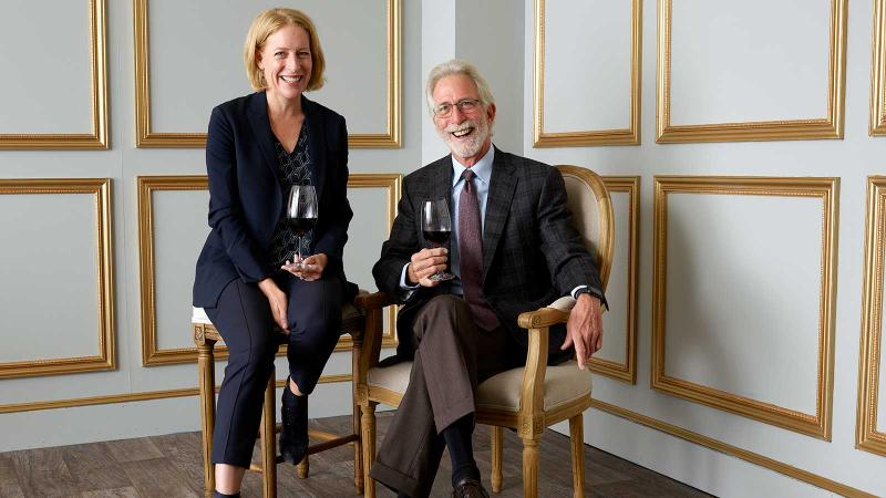Continuum Estate's father-daughter team of Tim and Carissa Mondavi are 2019 Wine Experience Wine Stars.