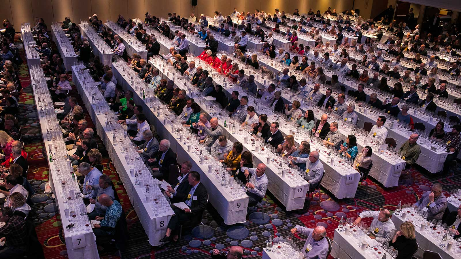 Overview of the 2019 Wine Experience seminar room