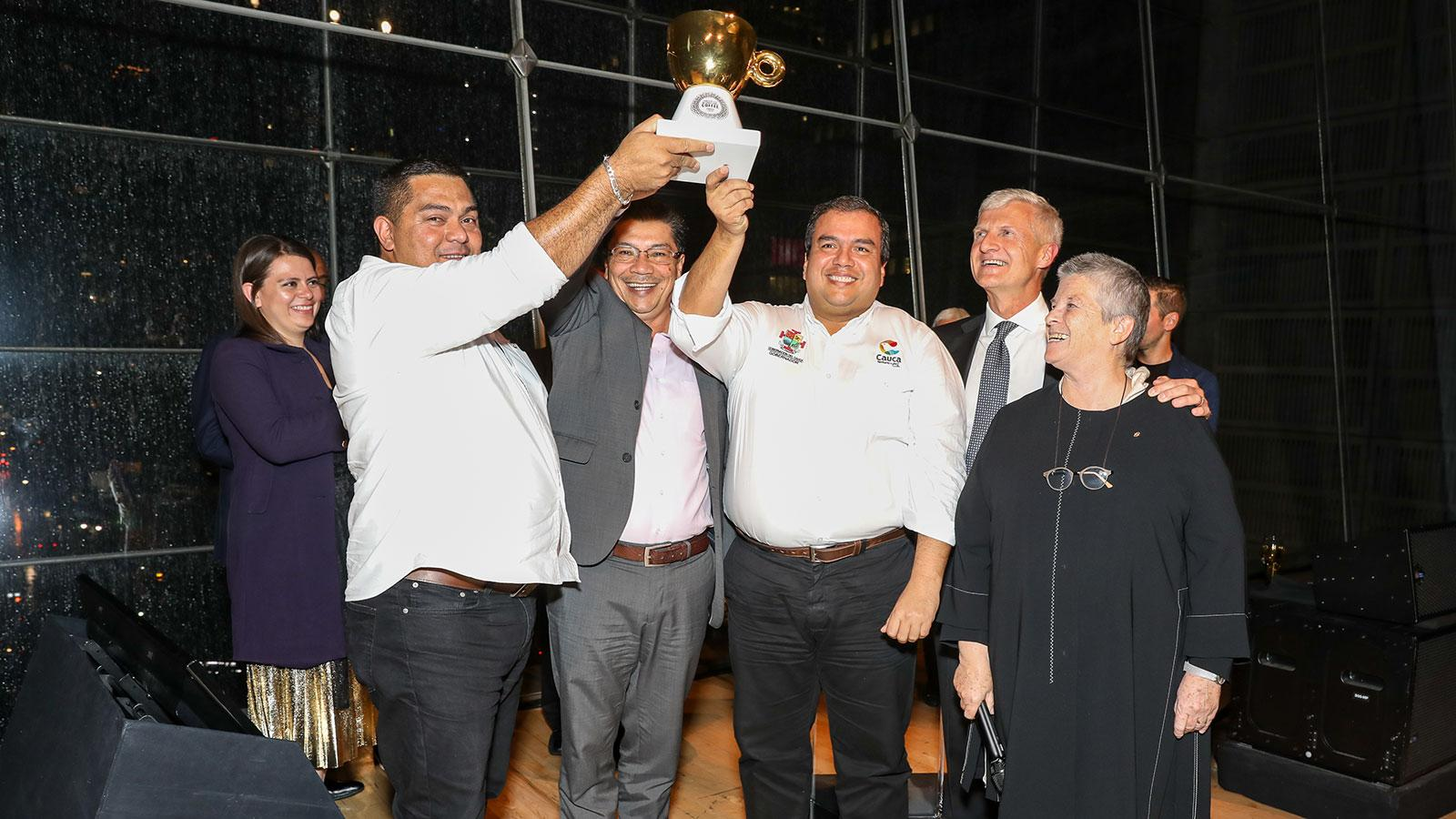 Illy International Coffee Award winners