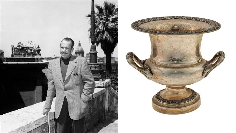 You Can Now Buy 'Grapes' Guy John Steinbeck's Wine Cooler, Decanters, Tastevins