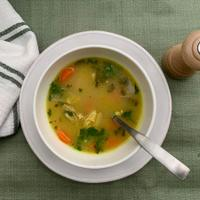 Give classic chicken soup a fresh, time-saving twist.