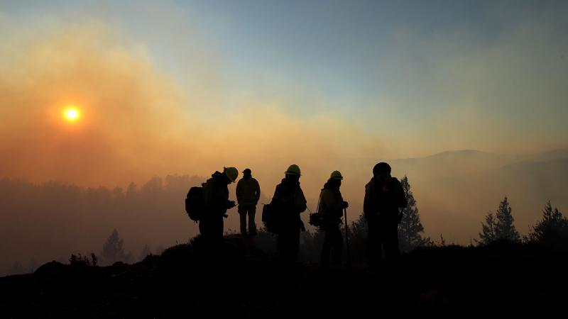 Fires Return But Sonoma Averts Crisis