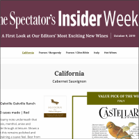 Each edition will feature reviews of at least 30 top-scoring wines from Wine Spectator editors' latest tastings.