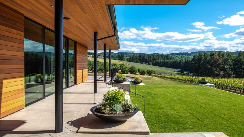 Ponzi focuses on the Chehalem Mountains AVA of the Willamette Valley.