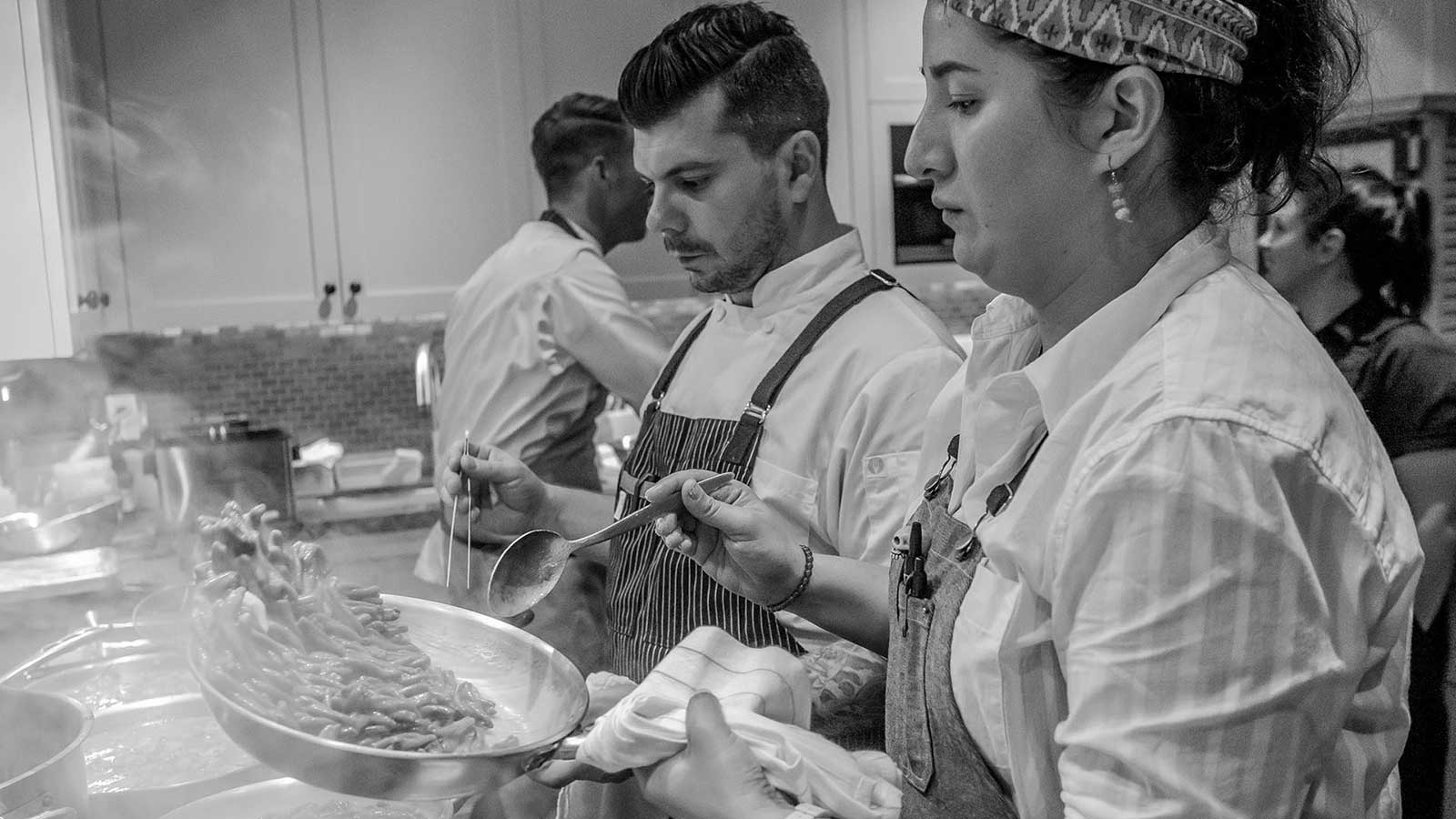 Top Chefs at Kosta Browne