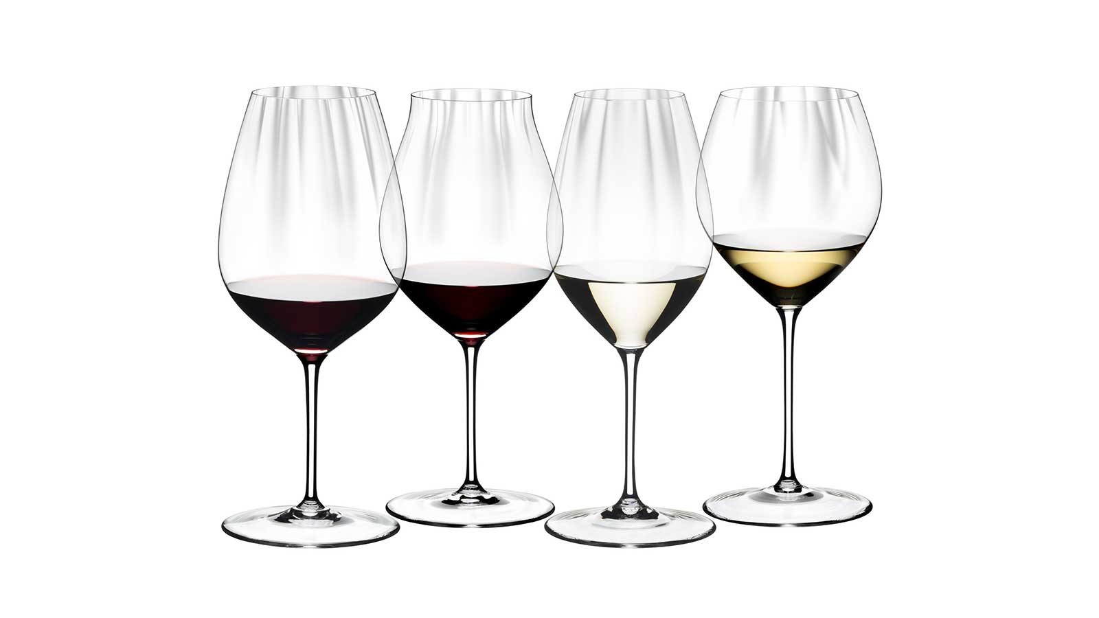 Riedel Performance Series wineglasses
