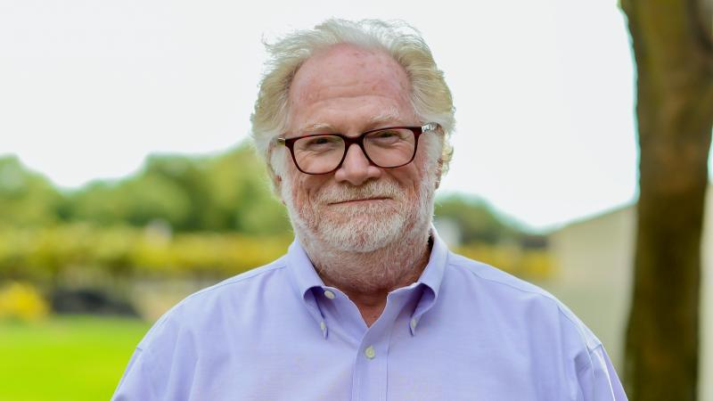 Jim Caudill was known for his huge network of friends and colleagues in the world of wine.