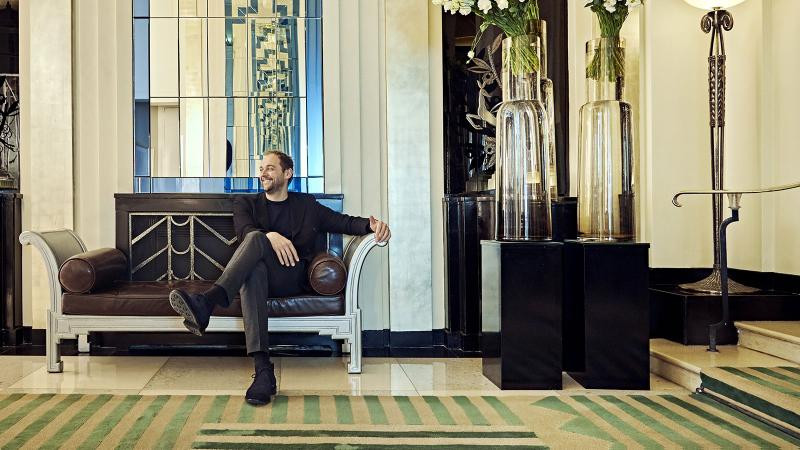 Chef Daniel Humm's Davies and Brook occupies a space in Claridge's, a hotel that dates back more than 200 years.