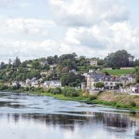 The historic town of Chinon in the Loire Valley sits on the Vienne river; the region excels with Cabernet Franc.