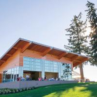 Stoller's winery and tasting room in Oregon's Dundee Hills is LEED Gold certified.